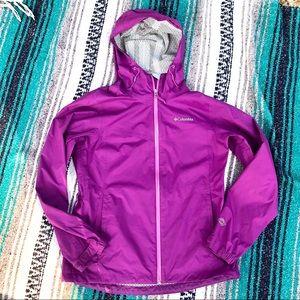 NWOT Columbia > Omni-Tech Purple Rain Jacket > M